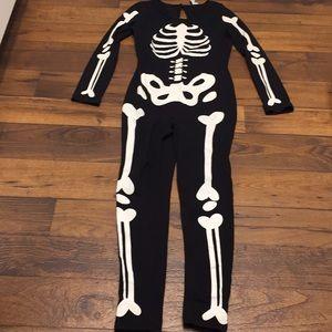 Skeleton Halloween costume. Size MEDIUM